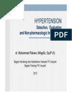 HYPERTENSION Dr.ridwan Spjp
