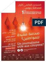 1ères Assises internationales du journalisme de Tunis 2018