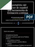 El Portafolio Del Profesor de Espaol Una Herramienta de Formacin Continua 1196789181430303 2