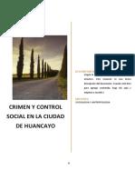 crimen en huancayo