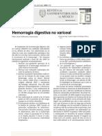 Hemorragia Digestiva No Variceal