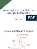 Associação em paralelo de bombas hidráulicas