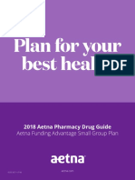 2018 RX Aetna Funding Advantage Small Group Plan RX 0718