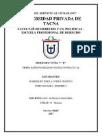 Monografia de Responsabilidad Extracontractual