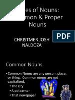 Comon ProperNouns