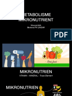 29354 9593 Metabolisme Mikronutrien