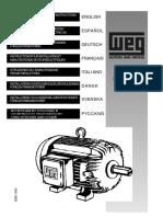 Manual Motores Weg - Em Varias Linguas