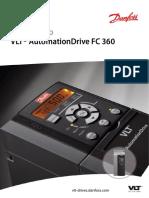 Manual de Instruções Inversor de Frequencia Danfoss FC360