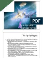 3 - Fotossíntese e Origem da Vida