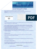 Adv Compass Error Book - Details