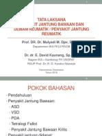 TOT Kardioserebrovaskular Update PJB Prof Mulyadi