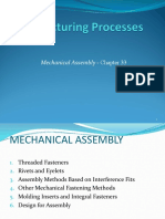 Mechanical Assembly - Chapter 33