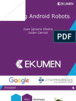 ROSCon 2017 Building Android Robots