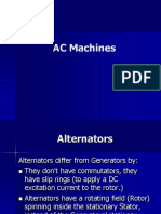 AC Machines (Alternators)