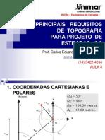 #200794-PAV I - AULA 04-Principais Requisitos de Topografia Para Projeto de Estradas 2-3