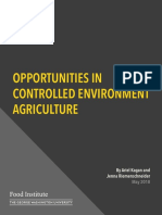 Opportunities in Controlled Environment Agriculture