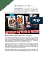 Situs Poker Idn Play Terbesar Dan Terpercaya   Warungpoker99