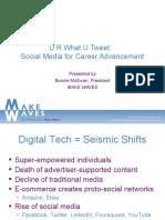 Social Media for Career Advancement
