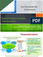 Escenario Para El Cambio Organizacional