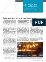 Storage Tanks Overfill Prevention Better Practices