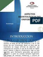 Deontología del universitario