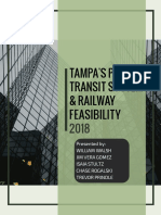 Tampa Rail Recommendation & Feasibility Report