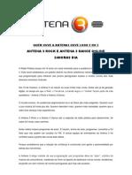Antena 3 Rock e Antena 3 Dance