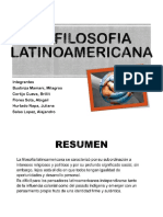 filosofia latinoamericana,ppt
