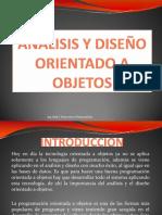 7.-Analisis y Diseño Orientado a Objetos
