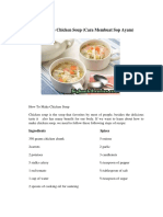 How To Make Chicken Soup.docx