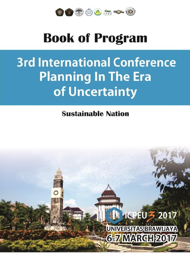 Book of Program 3rd icpeu 2017 Sustainability
