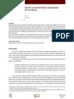 Nome Social Garantia de Identidade e Dignidade Nas Universidades Do Brasil