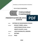 Analisis de Aceite y Fallas de Motores-Arturo Santisteban