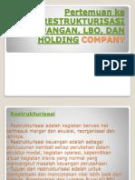 Restrukturisasi Keuangan, Lbo