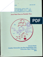 Chemica Volume 1 Nomor 2 Juni 2004