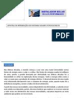 1 - APOSTILA DE INTRODU��O AOS SISTEMAS SOLARES FOTOVOLTAICOS
