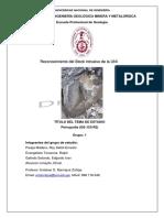 Informe de Salida de Campo Cerros UNI