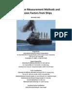 16Jan2017 Black Carbon Measurement Methods and Emission Factors Ships Final ICCT