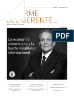 Informe Gerente 2018 Septiembre