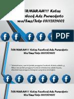 TERMURAH!!! Kelas Facebook Ads Purwokerto.pdf