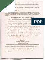 Ley N 031 - Ley Marco de Autonomías y Descentralización