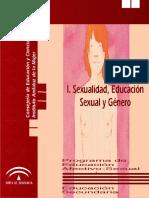 Tomo I General SEXUALIDAD EDUCACIÓN SEXUAL Y GENERO