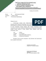 3.1.7.3 Surat Tugas Kaji Banding Done