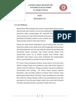 Laporan analisis jenis mineral dengan XRD dan XRF