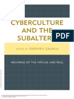 Cyberculture and the Subaltern Weavings of the Vir... ---- (Intro)
