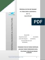 Proposal Ojt Pertamina Revisi1