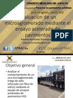EVALUACIÓN DE UN MICROAGLOMERADO