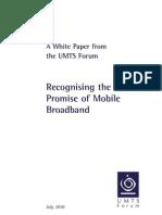 UMTSF White Paper July 2010 v2