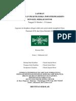 Laporan PKL M. Arif
