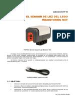 EL SENSOR DE LUZ DEL LEGO MINDSTORMS NXT
